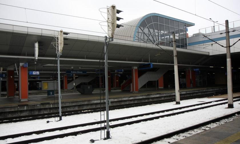 Budowa dworca kolejowego w Krakowie