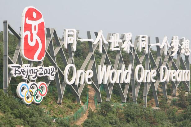 W opinii analityków, ogólna suma wydatków związanych ze zorganizowaniem igrzysk w Chinach przekroczy 40 miliardów dolarów. Fot. PAP