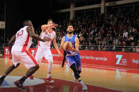 Marko Ljubičić u akciji