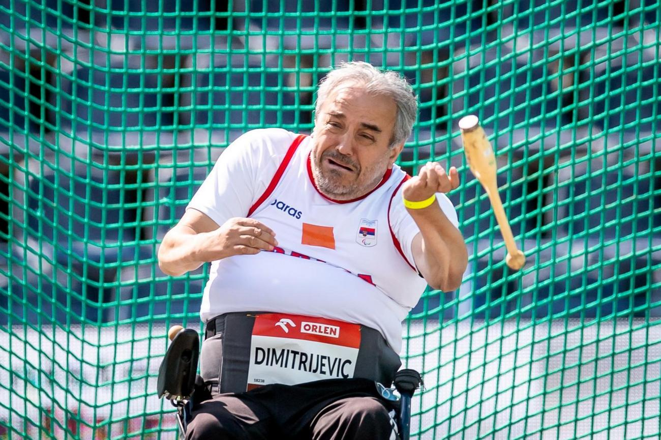 SVAKA ČAST, MAJSTORI Željko Dimitrijević osvojio zlato i oborio SVETSKI  REKORD, a Aleksandar Radišić se okitio bronzom na prvenstvu Evrope za  paraolimpijce