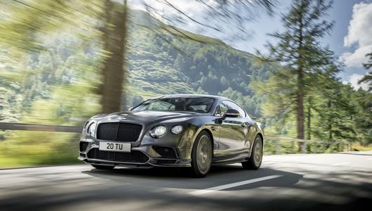 Bentley Continental Supersport – rekordzista świata
