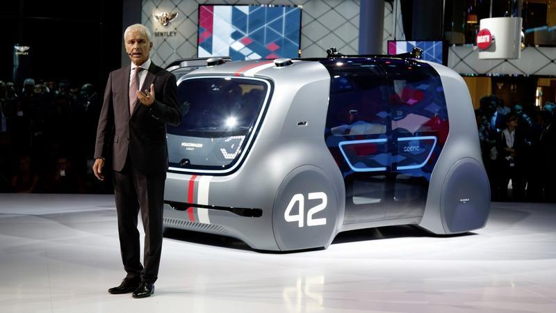 IAA Frankfurt 2017 - Gala koncernu Volkswagen