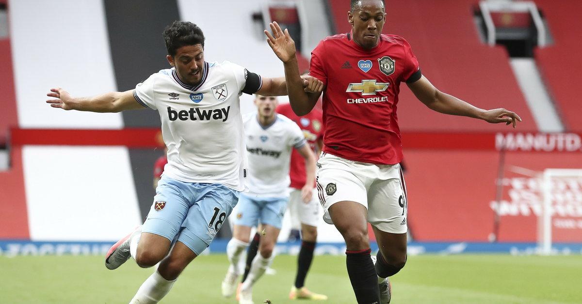 Premier League: Manchester United - West Ham. Walka o LM trwa! Relacja, wynik - Sport