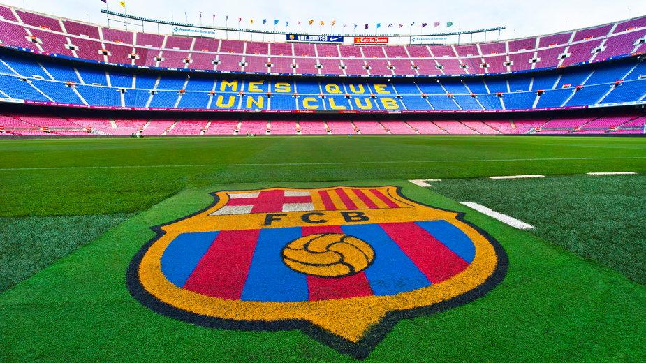 Stadion Camp Nou na którym swoje mecze rozgrywa FC Barcelona