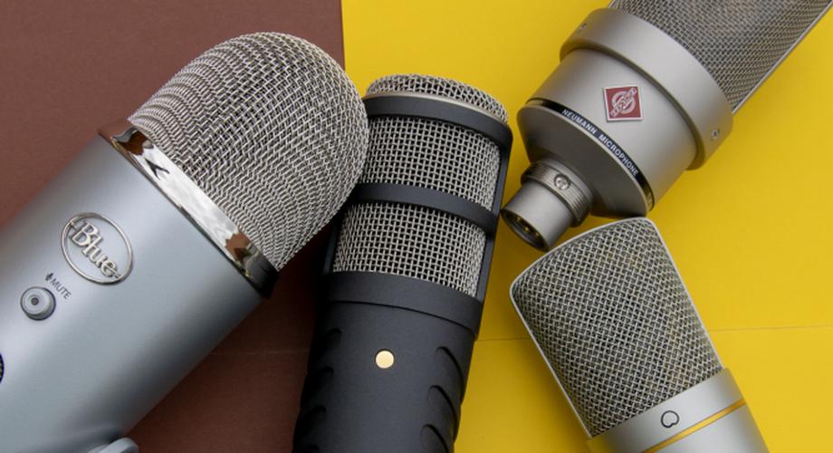 Günstig bis teuer: Vier Podcast-Mikrofone im Vergleich