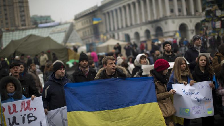 Protest na Majdanie