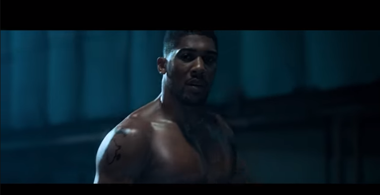 Anthony Joshua reps Naija hard in a new advert for Nigerian telco company