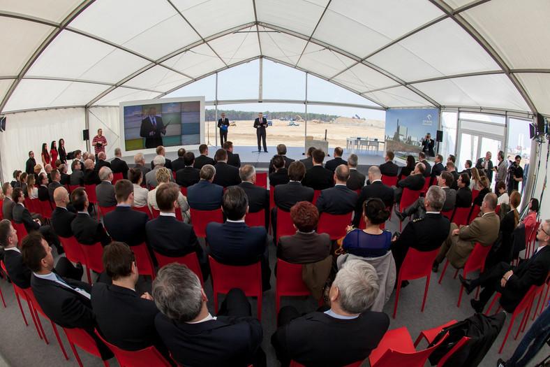 Oficjalna inauguracja budowy elektrociepłowni  (Mat. Orlen)