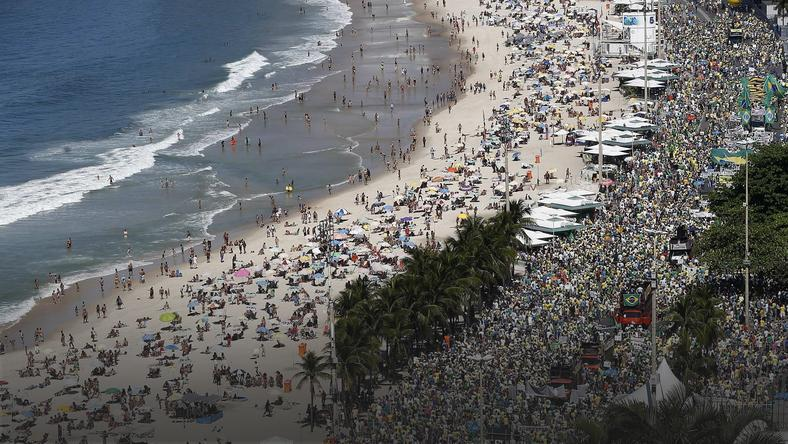 BRAZIL PROTEST  (Nationwide protests in Brazil agaionst Dilma government)