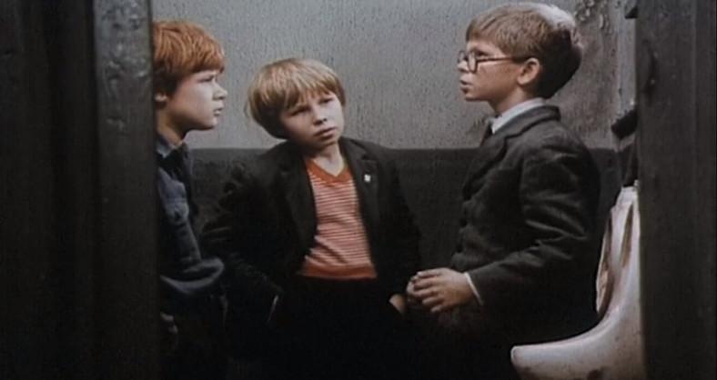 Henryk Gołębiewski, Edward Dymek and Filip Łobodziński in the film