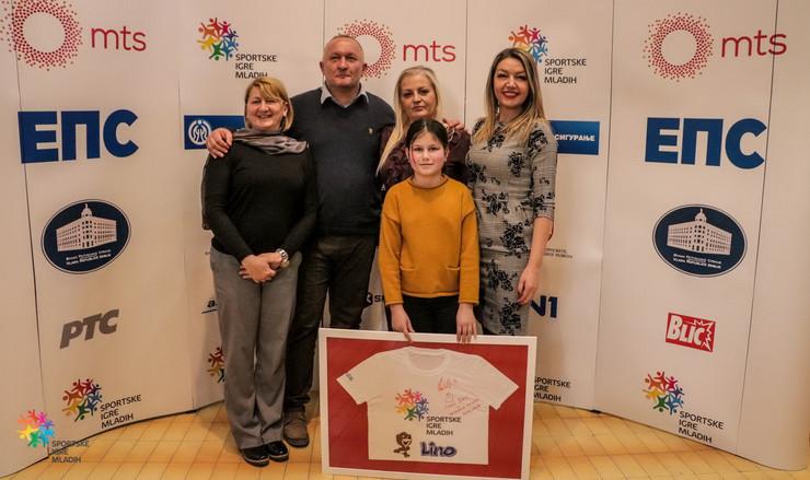 Izbor za decu Sportskih igra mladih