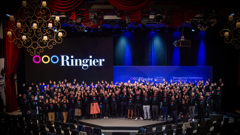 Ringier AG team from across different markets during the Ringier Management Conference (RMC) in Switzerland 2019.