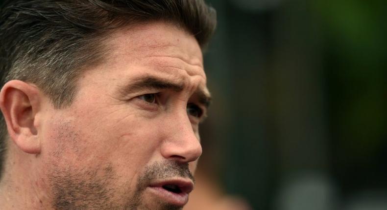 Former Australia international Harry Kewell has been sacked as the head coach of non-league Barnet Creator: SAEED KHAN