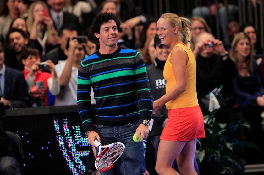 Golfista przerwał kochance mecz tenisowy