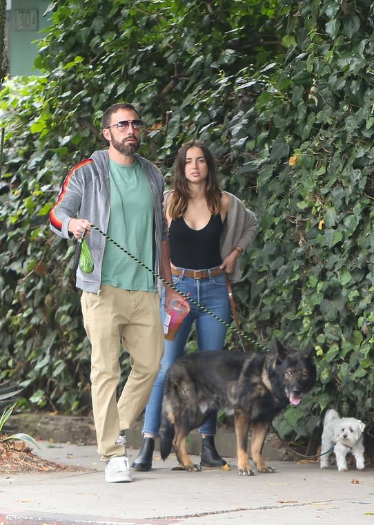 Ben Affleck and Ana de Armas caught walking in California