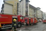 Požar u ulici Mileve Marić