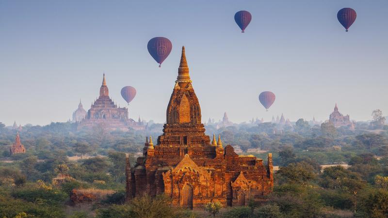 Birma - atrakcje