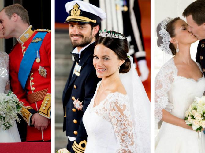 10.000 bisera, 6.000 dijamanata, 100 metara svile... Ovo su NAJRASKOŠNIJE kraljevske venčanice kroz istoriju