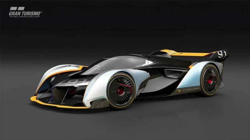 McLaren przedstawił wizję sportowej hybrydy