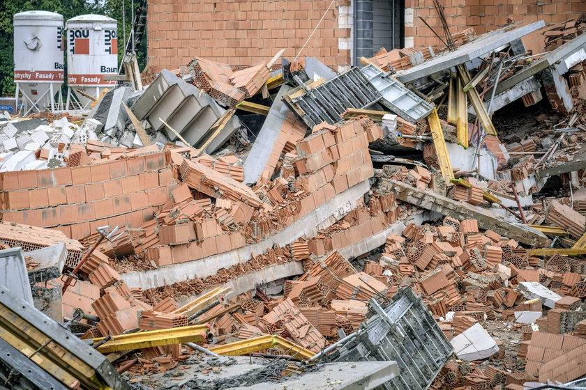 Zawalił się blok w Bielsku-Białej