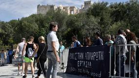 Z powodu strajku strażników zamknięty Akropol i inne greckie muzea