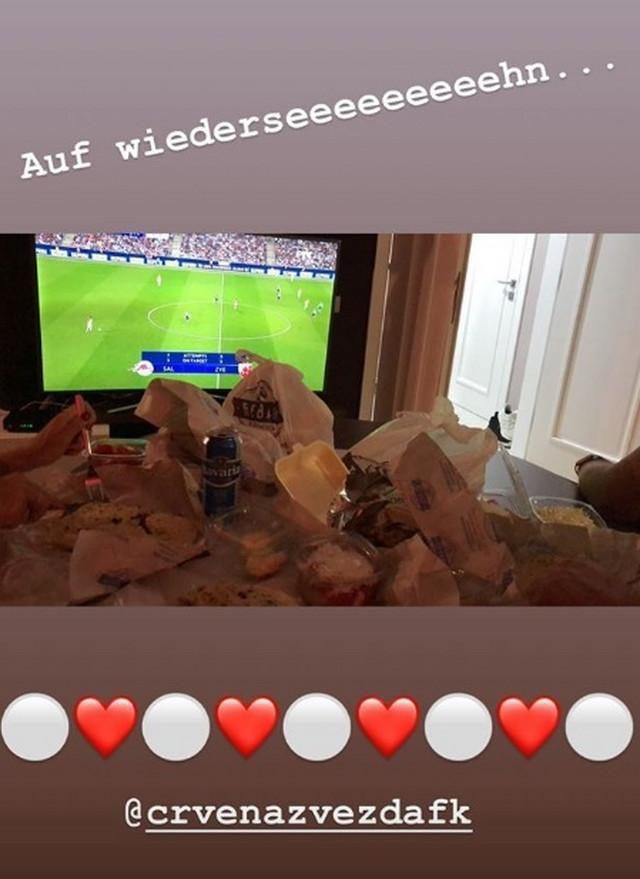 Cirbesova Instagram poruka Salcburgu
