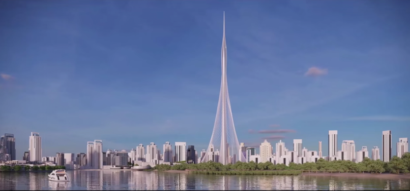 Dubai Creek Tower Harbour Foto: Screenshot / YouTube