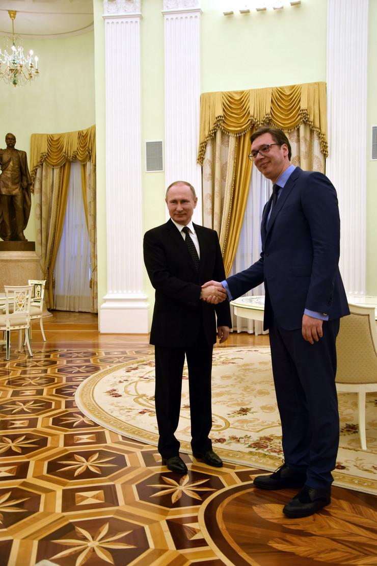 vučić putin02 foto Promo Vlada Srbije