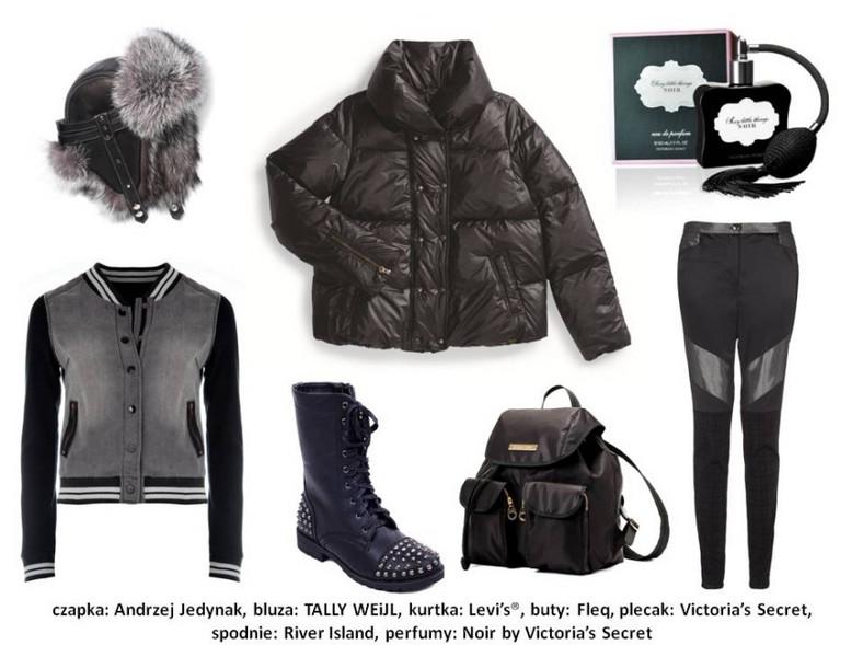Modne stylizacje na zimę 2013