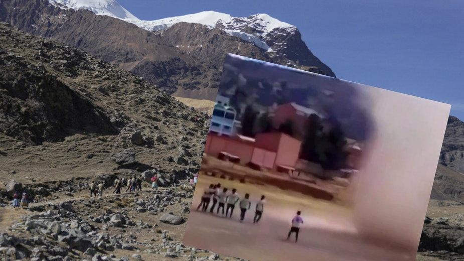 """""""Diabelski pył"""" w Boliwii"""