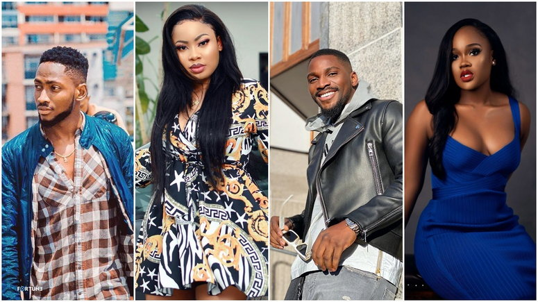 Some of the most admired relationships in the house surprisingly went sour [Instagram/MiracleChukwu] [Instagram/NinaIvy] [Instagram/CeecOfficial] [Instagram/TobiBakre]