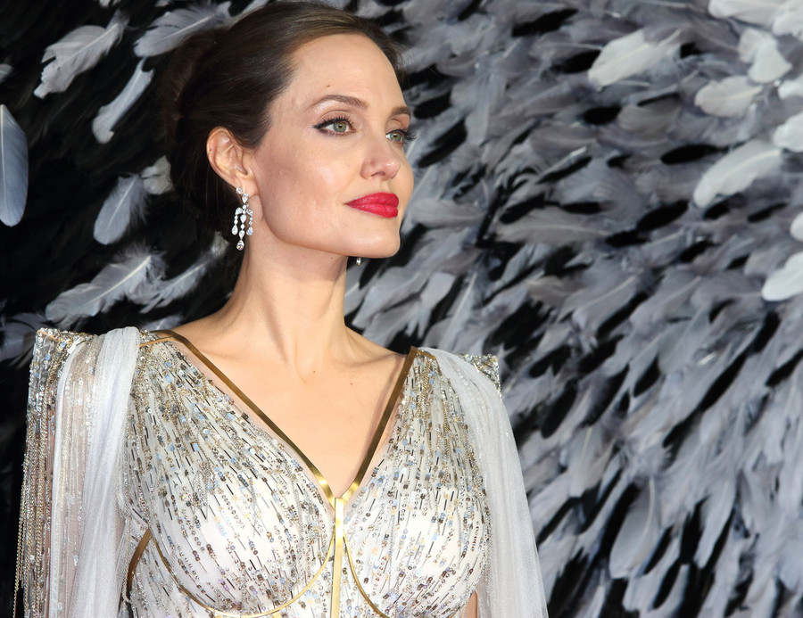 Angelina Jolie na premierze w Londynie 2019 / SOPA Images / Getty Images