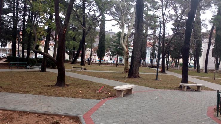radovi u gradskom parku trebinje