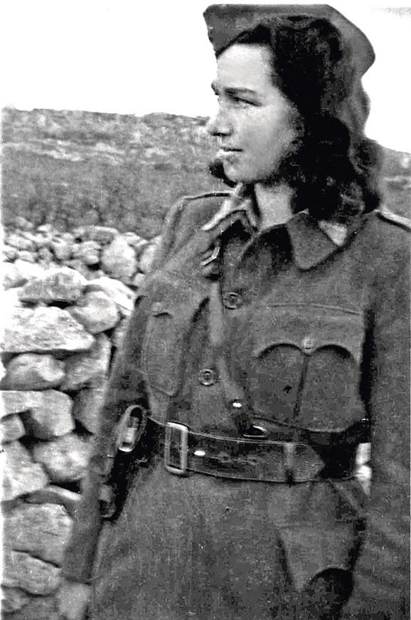 Ladislava Slavka Ranković u partizanima
