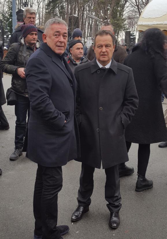 Ivica Dačić i Mima Karadžić