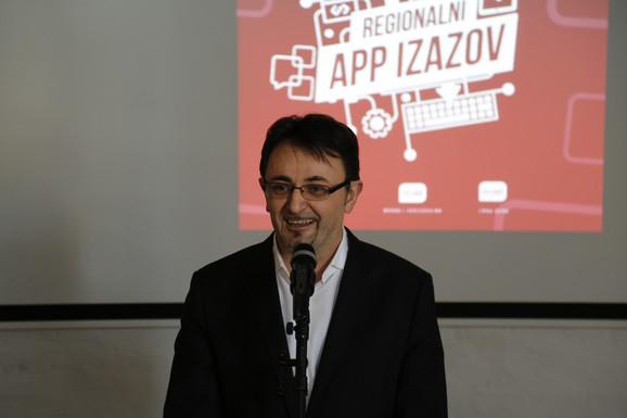 Generalni direktor kompanije Telekom Srbija Predrag Ćulibrk