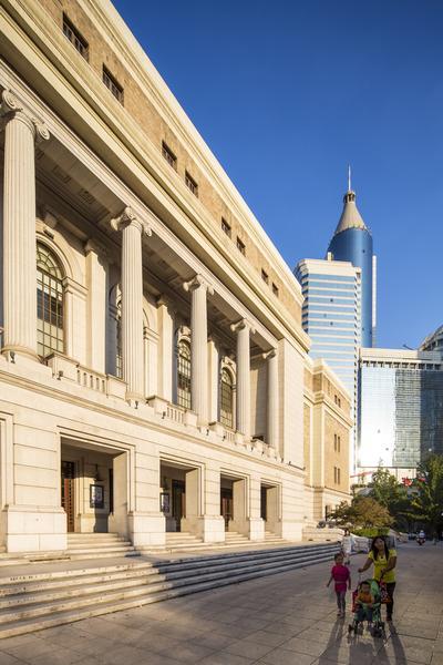 Budynek Sali Koncertowej, Szanghaj