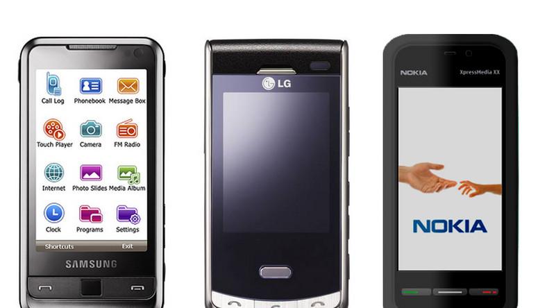 Nokia dołącza do wyścigu dotykowych telefonów