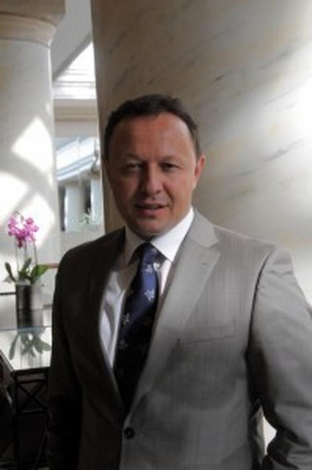 Predsednik RK Vojvodina Milan Đukić
