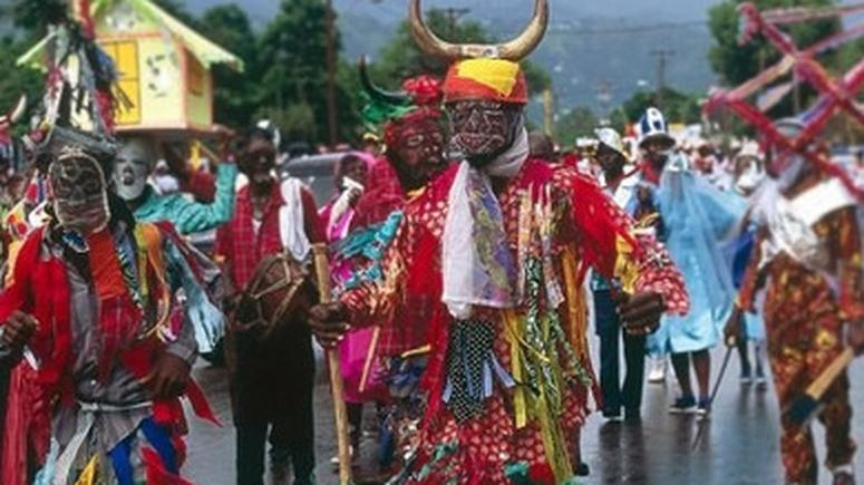 The Igbos also introduced the yam celebration, Jonkonnu, to Jamaica