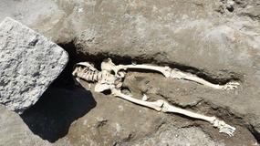 W Pompejach znaleziono wyjątkowy szkielet