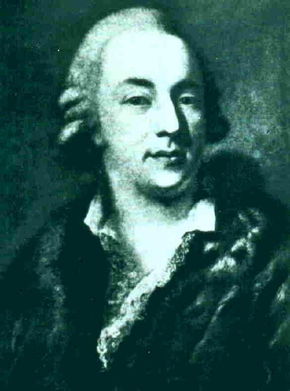 Alesandro Longi (1733-1813), Portret Đakoma Kazanove