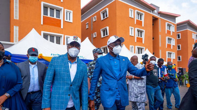 Gov Sanwo-Olu delivers 14 estates in 2 years