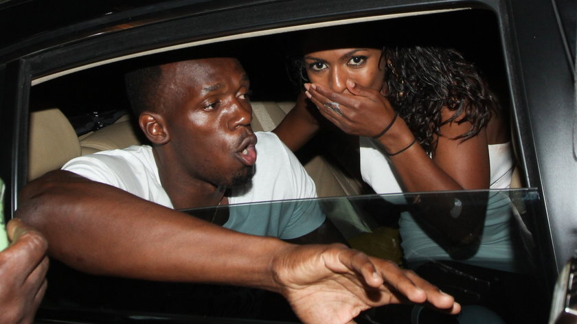 Upojny wieczór Usaina Bolta w klubie ze striptizem. Wideo!