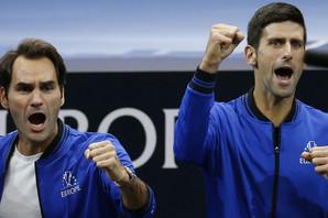"""""""UŽIVANJE JE IGRATI SA NJIM"""" Federer nije mogao da sakrije sreću što je bio NA ISTOJ STRANI sa Novakom Đokovićem"""