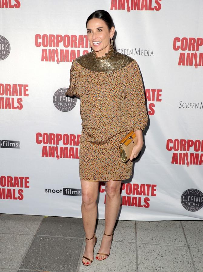 Demi Mur na premijeri u Los Anđelesu