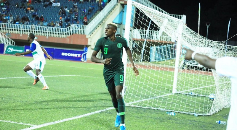 Nigeria 4 Vs 2 Lesotho: Twitter Nigeria applauds Victor Osimhen after Man-of-the-Match performance in AFCON 2021 qualifier