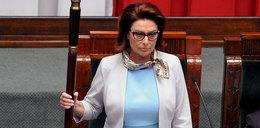 Modowa wpadka marszałek Sejmu!