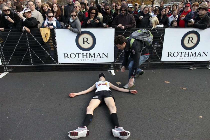 Dubeltowo tragiczny koniec maratonu