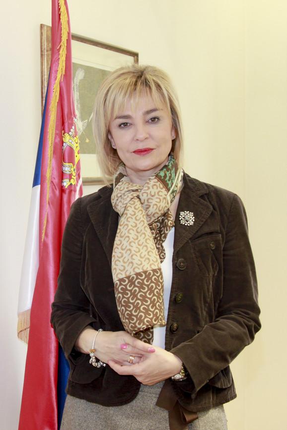 Renata Pindžo, pomoćnik ministra za turizam, trgovinu i telekomunikacije